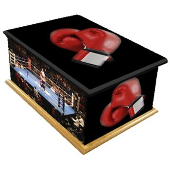 Knockout Ashes Casket