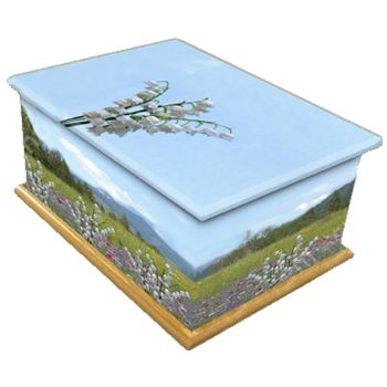 Lily Of The Valley Ashes Casket