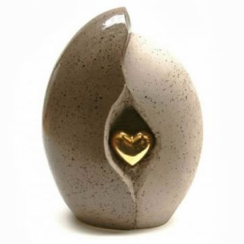 Heart Of Gold Urn