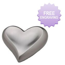 Inlaid Silver Heart