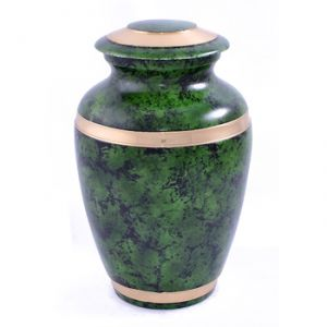 Green Marble Urn