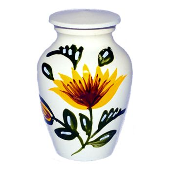 Sunflower Keepsake Urn