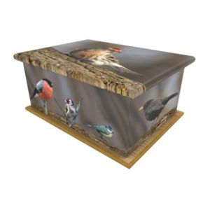 British Birds Ashes Casket