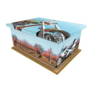 Easy Rider Ashes Casket