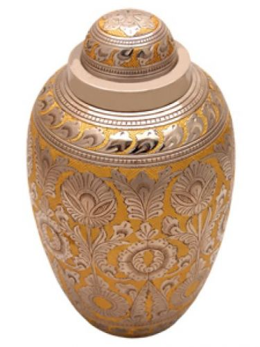 Egyptian Gold Urn