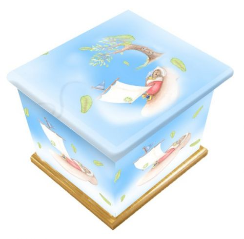 Sail Away Ashes Casket