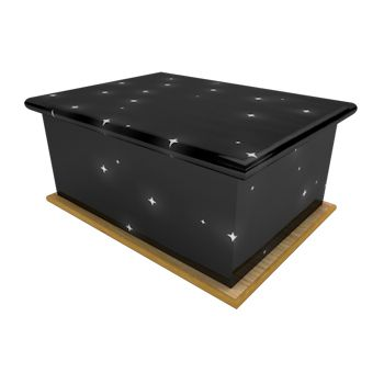 Starry Night Ashes Casket