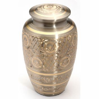 Platinum Gold Urn