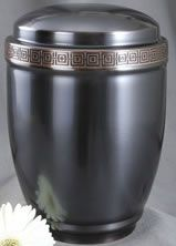 Grey Copper Urn