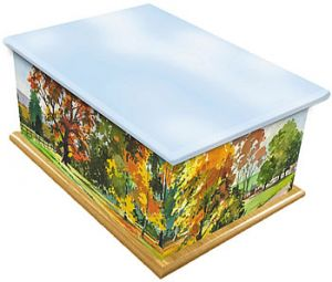 Autumn Ashes Casket