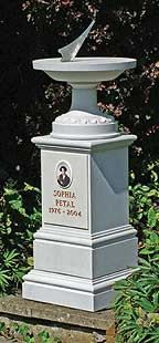 Memorial Classical Sundial