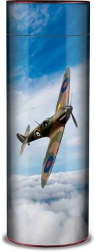 Spitfire Ashes Scattering Tube