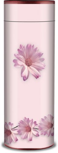 Pink Gebera Ashes Scattering Tube