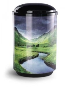 Mountain Stream Steel Urn