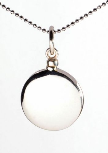Round Ashes Pendant
