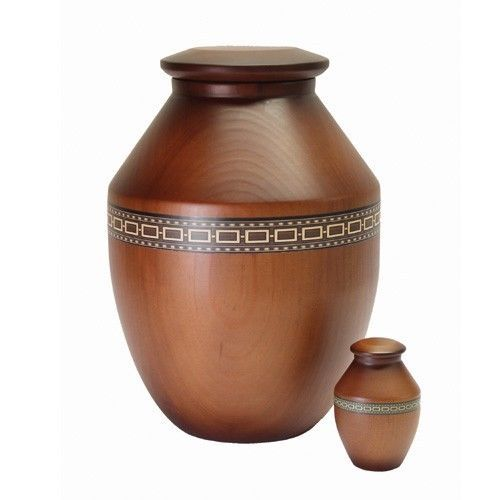Traditional Wooden Urn