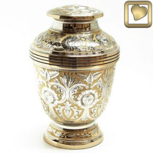 Silver/Gold Urn