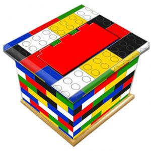 Building Blocks Ashes Casket