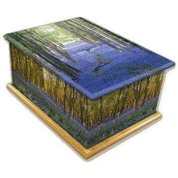 Bluebell Wood Ashes Casket