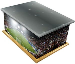 Football Stadium Ashes Casket