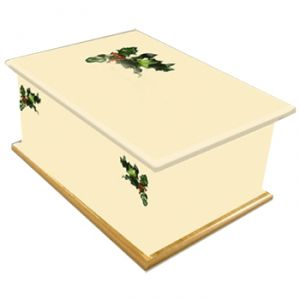 Holly Ashes Casket
