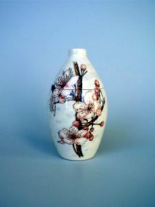 Blossom Hand Painted Urn