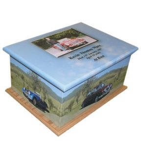Classic Cars Ashes Casket