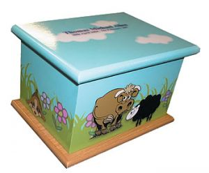 Animal Friends Ashes Casket