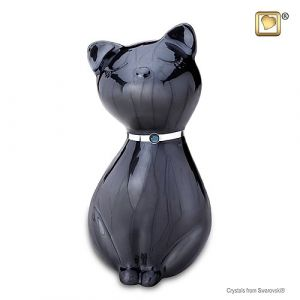 Swarovski Crystal Midnight cat
