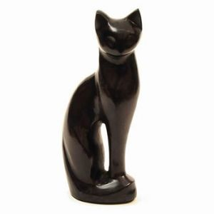 Cat Figurine Black