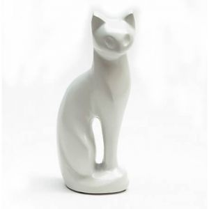 Cat Figurine White