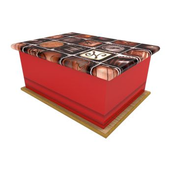 Chocolate Ashes Casket