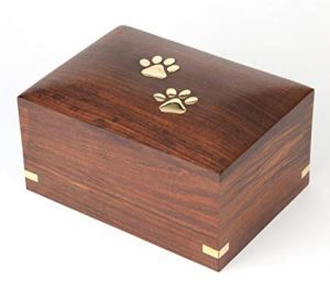 Elstree Wooden Paw Casket