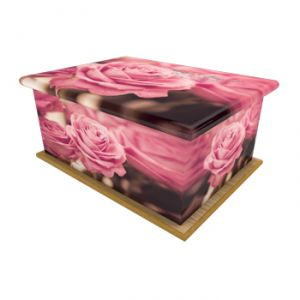 English Rose Ashes Casket