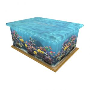 Fish Tank Ashes Casket