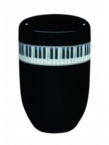 Poynton Black Piano Urn
