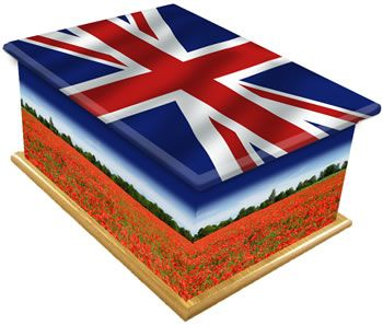 British and Proud Ashes Casket