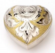 Devon Gold Heart