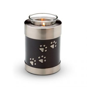 Candle Holder Pet Black