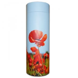 Poppies Ashes Scattering Tube