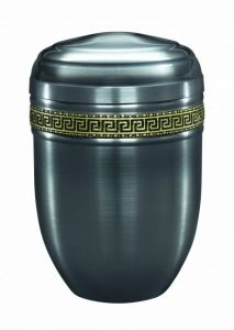 Purley Brushed Steel Urn