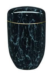 Purley Black Marble Urn