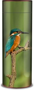Kingfisher Ashes Scattering Tube