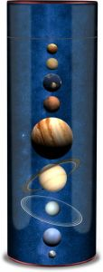 Planets Ashes Scattering Tube