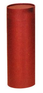 Burgundy Ashes Scattering Tube