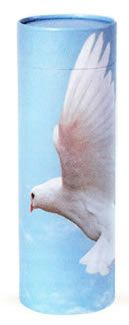 Dove Ashes Scattering Tube