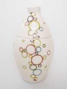 Circle of Life Hand Painted Urn