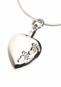 Footprints Ashes Pendant